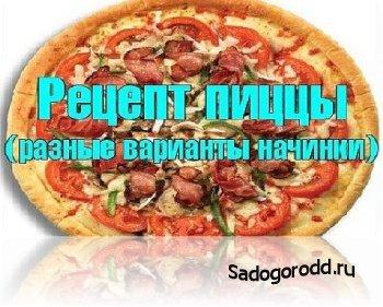 Рецепт пиццы (разные варианты начинки) (2014)